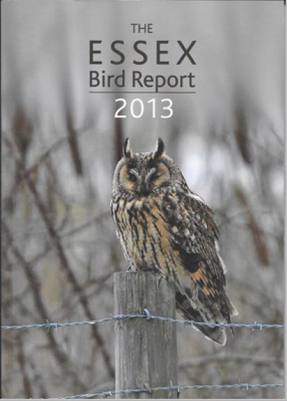 Front Cover Of Essex Bird Report 2013