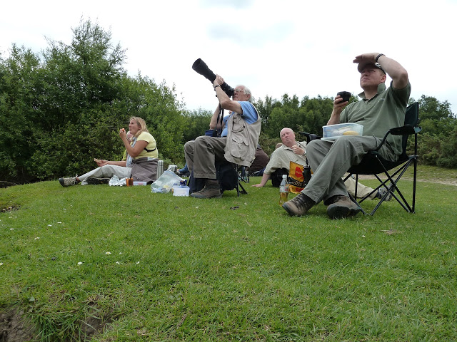 Even lunch time is photography time - Ashdown Forest 21st June 2010
