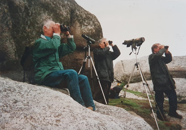 The trio on Penninis, St Mary's in October 1997